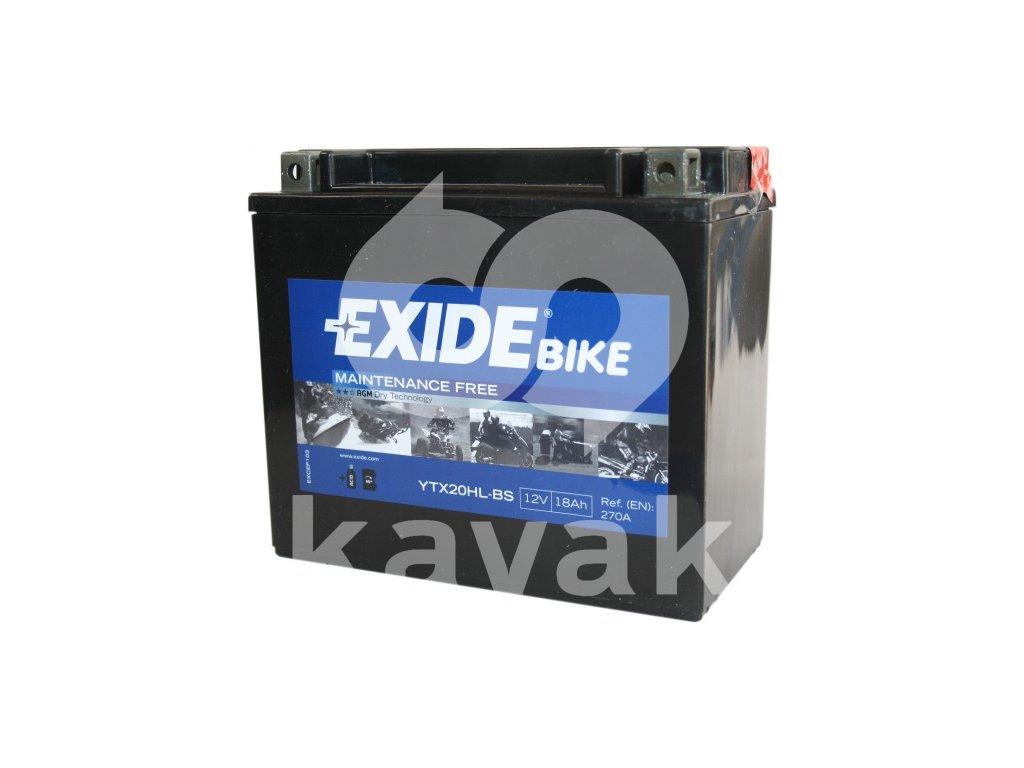 EXIDE 12V 18Ah YTX20HL-BS