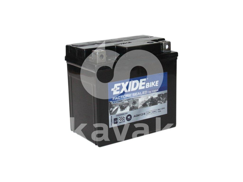 EXIDE 12V 4Ah AGM12-5