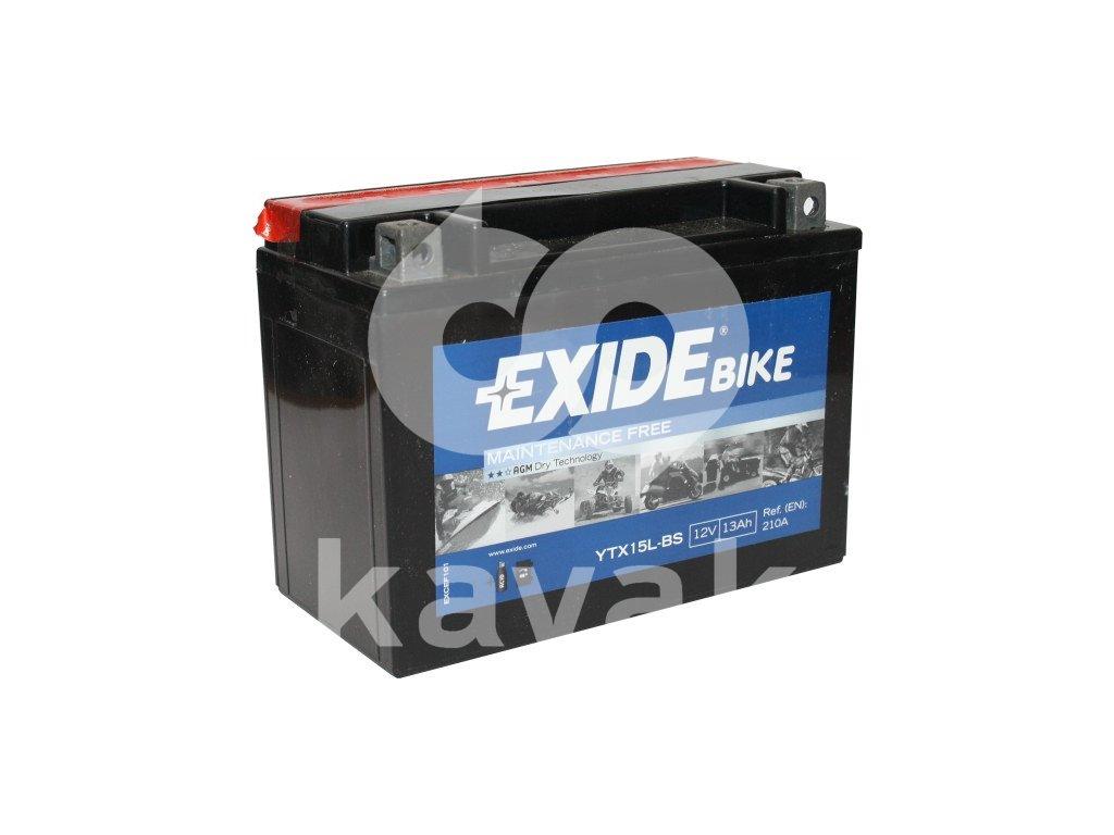 EXIDE 12V 13Ah YTX15L-BS