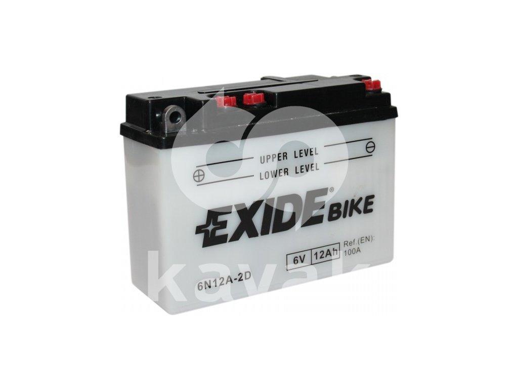 EXIDE 6V 12Ah 6N12A-2D