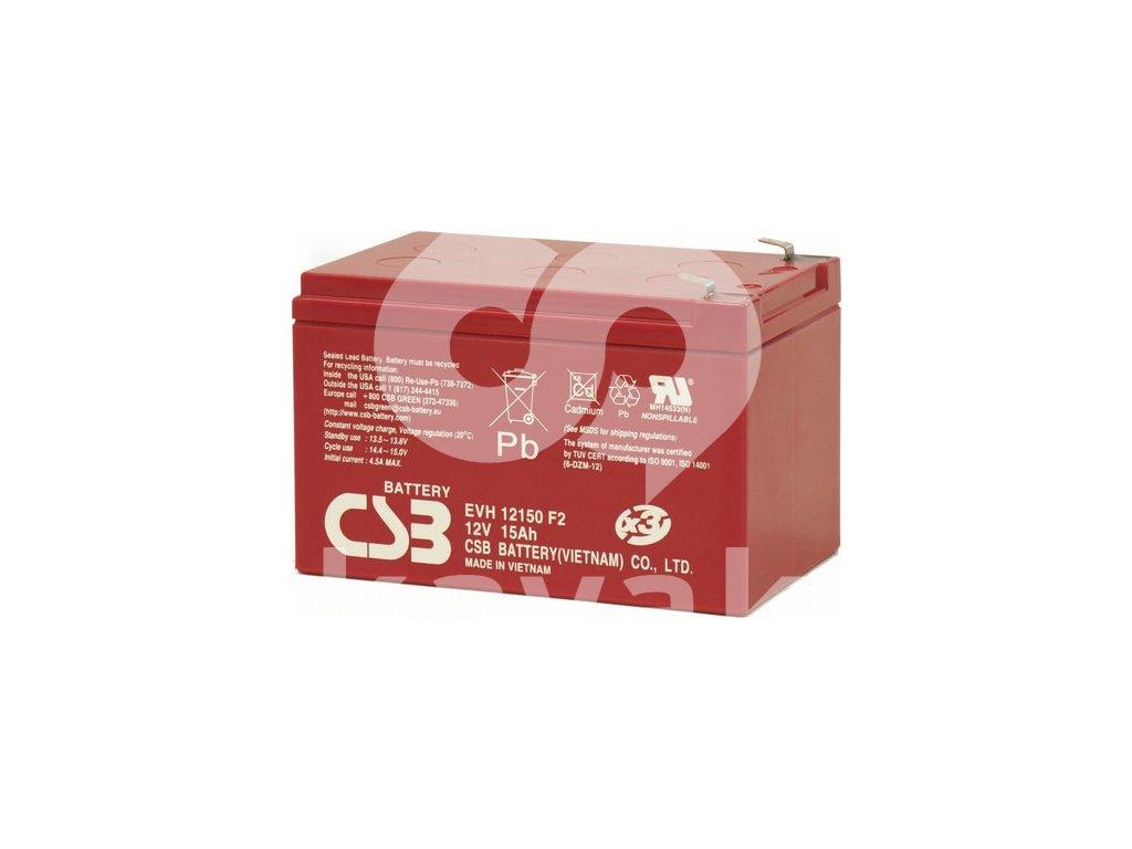CSB EVH12150F2 12V 15Ah