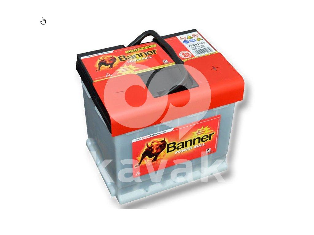 Banner Power Bull PROfessional 12V 50Ah 420A