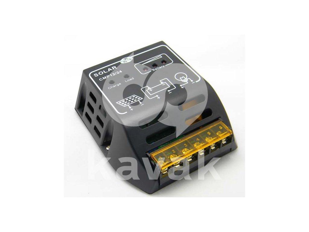 Solární regulátor nabíjení 10A 12V/24V