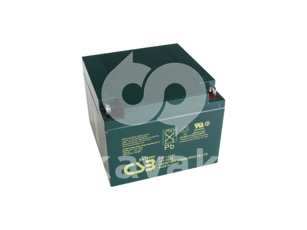 CSB EVX12260 12V 26Ah