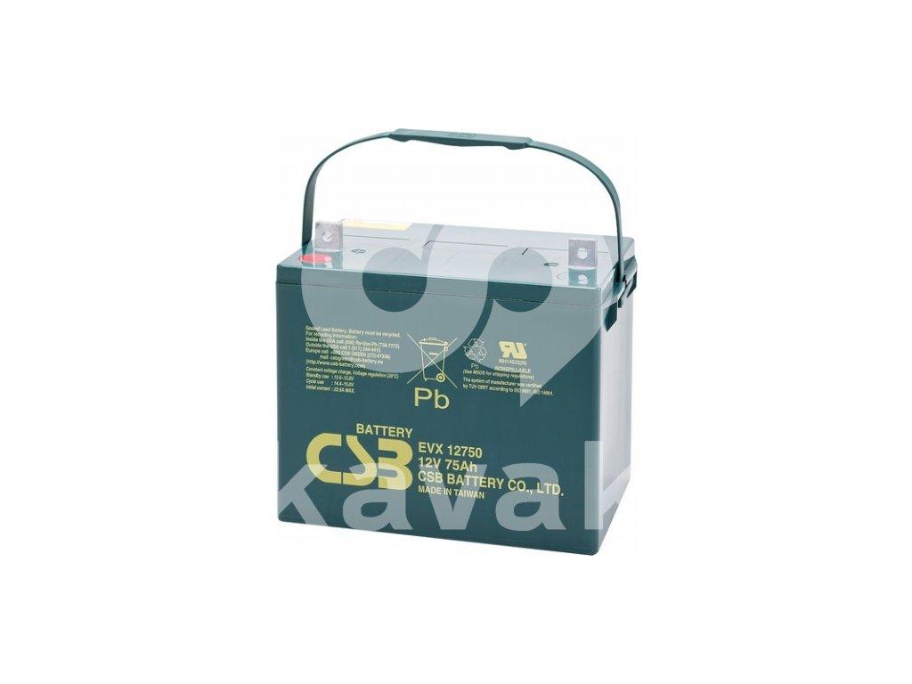 CSB EVX12750 12V 75Ah