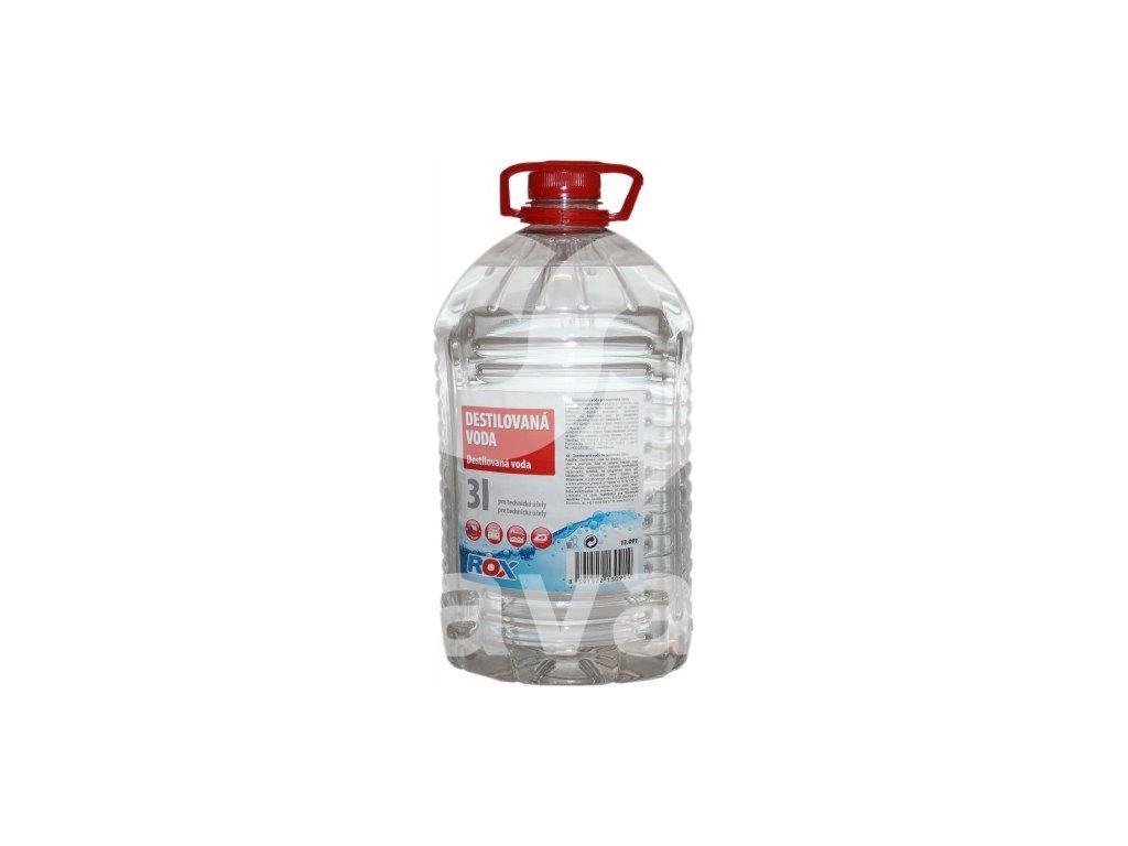 destilovaná vodal 3 l