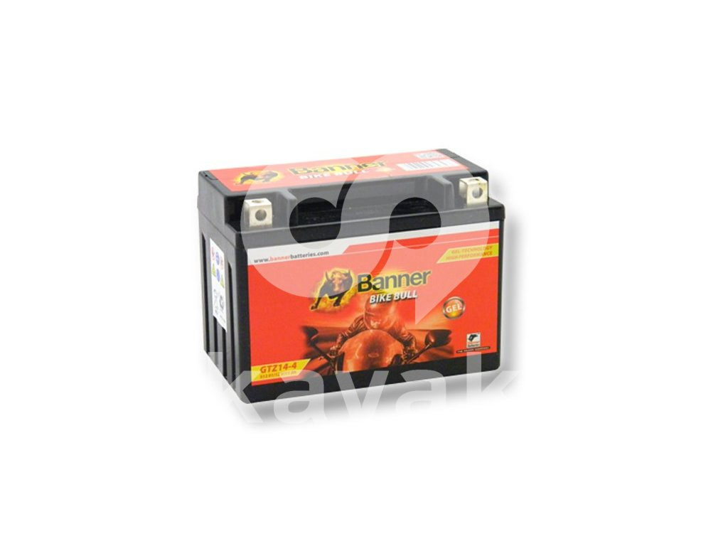 GTZ14 4 (YTZ14S), 12V 11Ah BATTERY