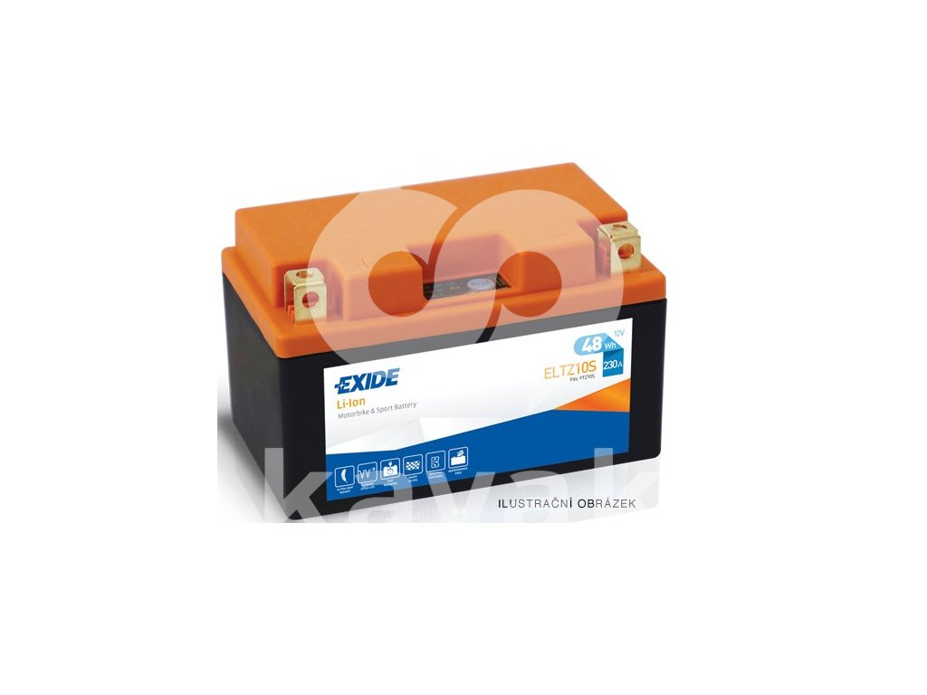 2017 03 15 10 49 28 Motobaterie EXIDE BIKE Li Ion 4Ah, 12V, ELTX14H Battery Import
