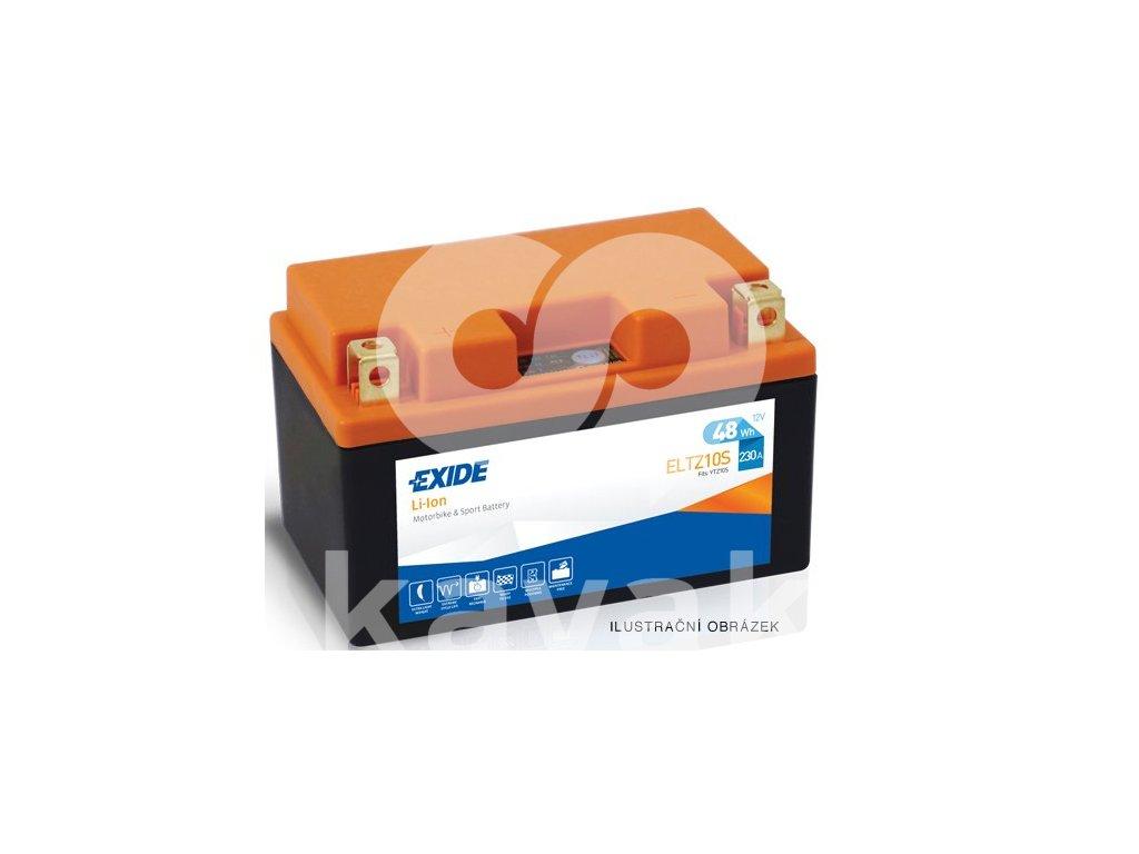 2017 03 15 10 50 07 Motobaterie EXIDE BIKE Li Ion 5Ah, 12V, ELTZ14S Battery Import