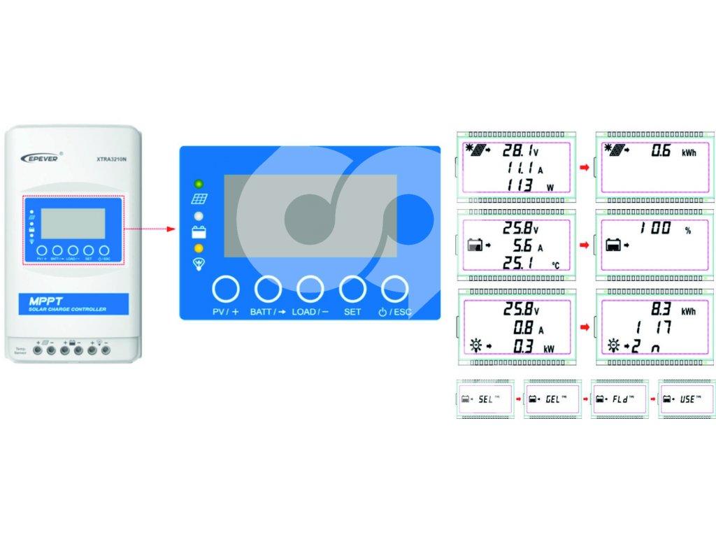 Solární regulátor MPPT XTRA 4