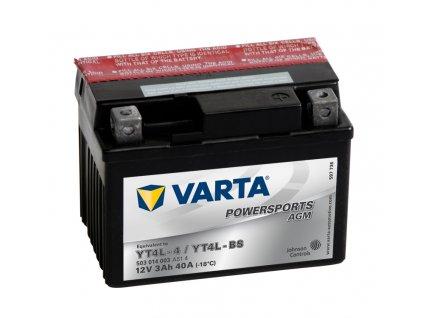 Varta AGM 12V 3Ah 40A 503 014 003 YT4L-BS