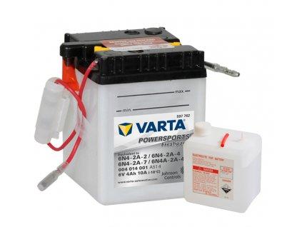 Varta freshpack 6V 4Ah 10A 004 014 001 6N4-2A-2