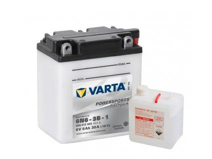 Varta freshpack 6V 6Ah 30A 006 012 003 6N6-3B-1