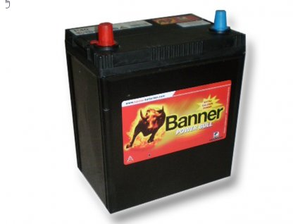 Banner Power Bull 12V 40Ah 300A P40 27