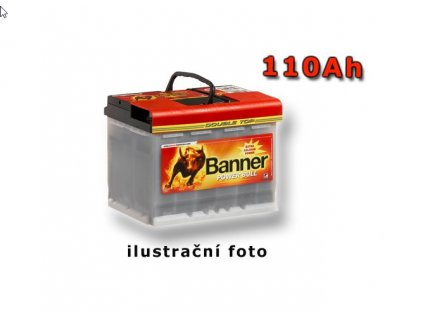 Banner Power Bull  Professional 12V 110Ah 850A