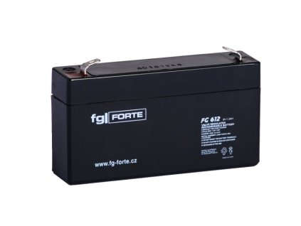 Staniční baterie,záložní zdroj fgFORTE 6V 1,2Ah