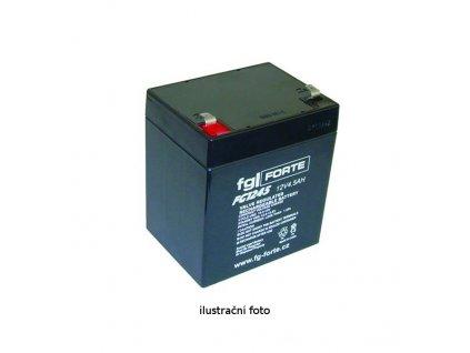 Staniční baterie,záložní zdroj fgFORTE 12V 5Ah