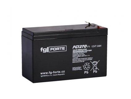 Staniční baterie,záložní zdroj fgFORTE 12V 7,2Ah