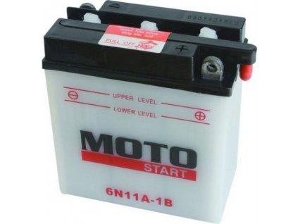 Motostart Standart 6V 11Ah 6N11A-1B