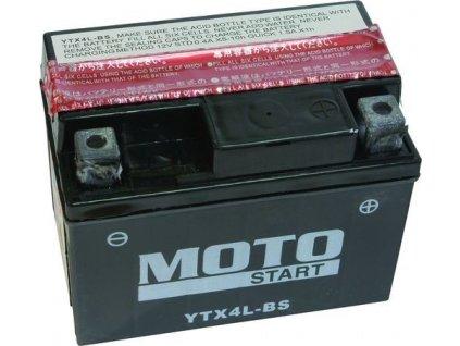 Motostart Super MF 12V 3Ah 50A YTX4L-BS