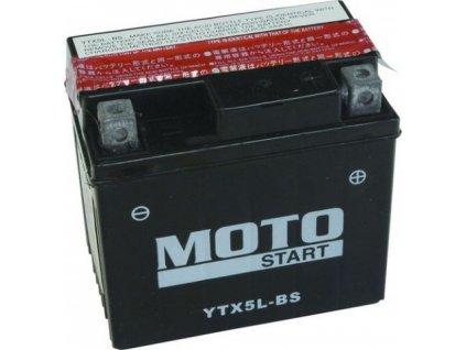 Motostart Super MF 12V 4Ah 70A YTX5L-BS