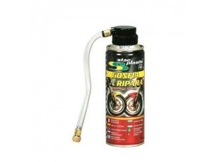 sprej na opravu pneumatik motorky 200 ml~1
