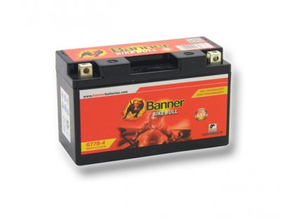 GT7B 4 (YT7B BS), 12V 6Ah BATTERY