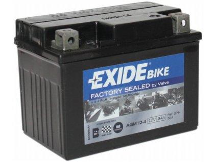 EXIDE 12V 3Ah AGM12-4