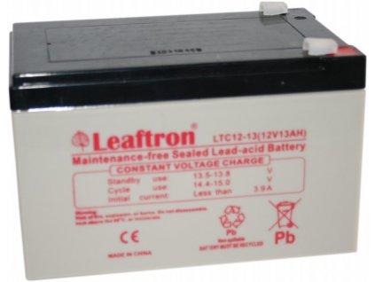 Staniční baterie, záložní zdroj LEAFTRON LTC12-13  12V 13Ah