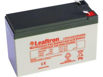 Staniční baterie, záložní zdroj LEAFTRON LTX12-9 T2  12V 9Ah