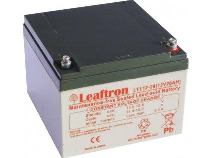 Staniční baterie, záložní zdroj LEAFTRON LTL12-28  12V 28Ah