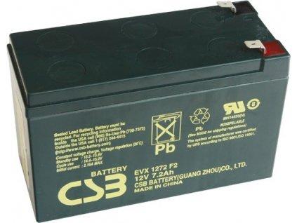 Staniční baterie, záložní zdroj CSB EVX1272F2 12V 7,2Ah