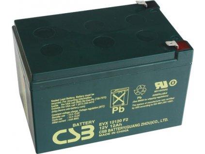 Staniční baterie, záložní zdroj CSB EVX12120F2 12V 12Ah