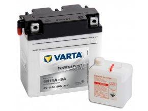 Varta freshpack 6V 11Ah 80A 012 014 008 6N11A-3A