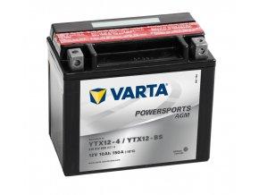 Varta AGM 12V 10Ah 150A 510 012 009 YTX12-BS