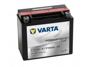 Varta AGM 12V 18Ah 250A 518 901 026 YTX20L-BS