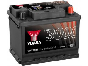 Yuasa YBX3027 12V 60Ah 550A