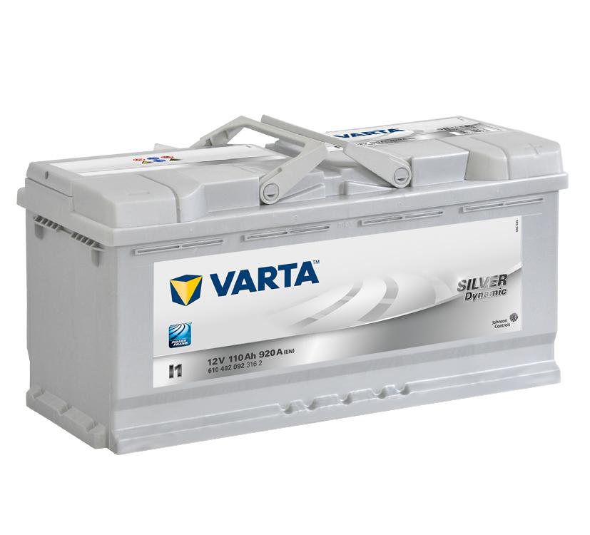 Varta Silver Dynamic 12V 110Ah 920A