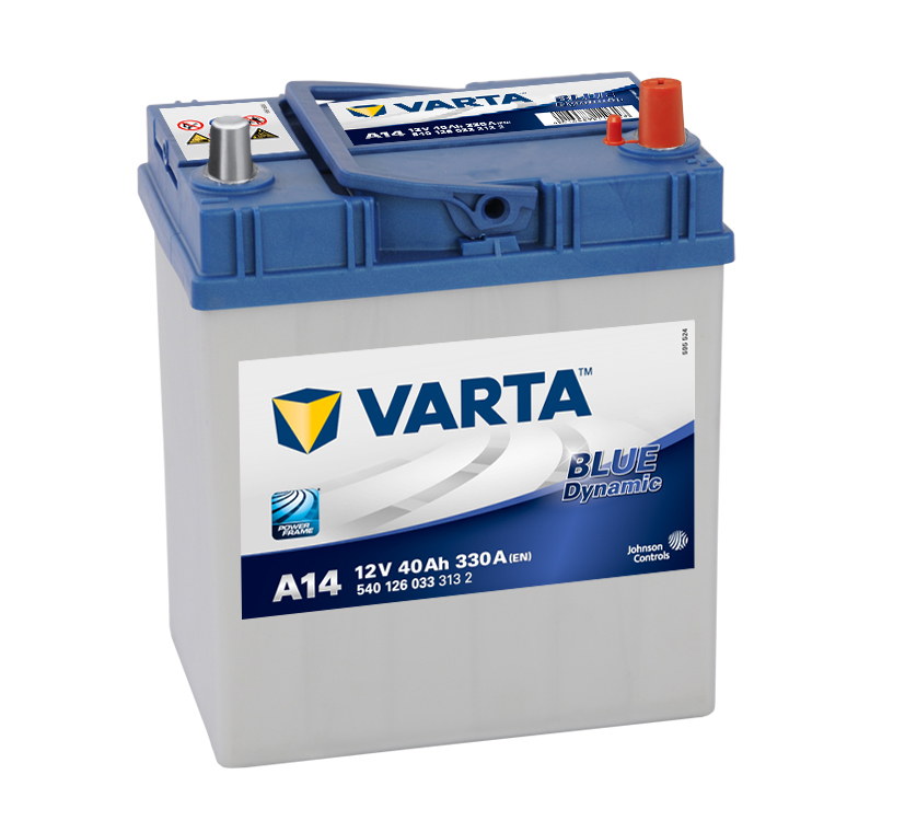 Varta Blue Dynamic 12V 40Ah 330A 540 126 033