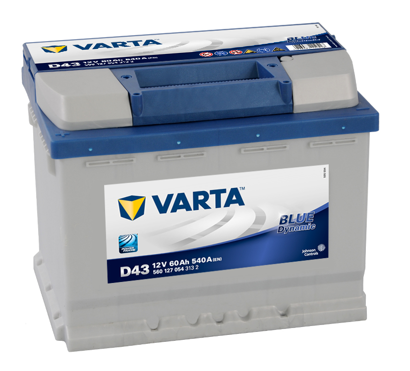 Varta Blue Dynamic 12V 60Ah 540A 560 127 054