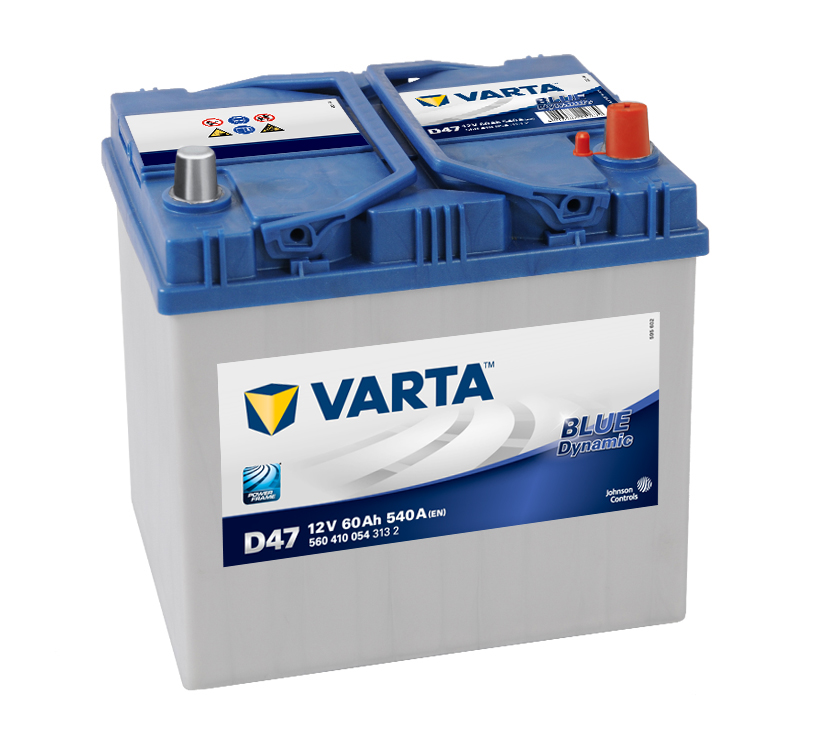 Varta Blue Dynamic 12V 60Ah 540A 560 410 054