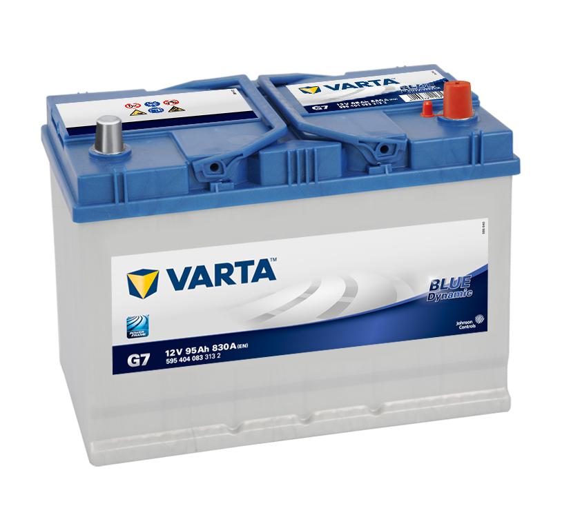 Varta Blue Dynamic 12V 95Ah 830A 595 404 083