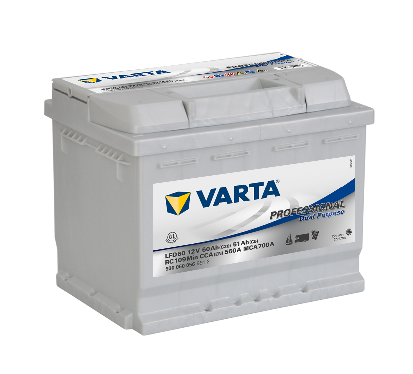Varta Professional Dual Purpose 12V 60Ah 560A