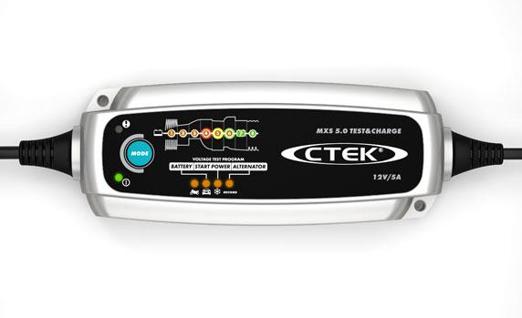 Ctek MXS 5,0 Test-Charge 12V 5A