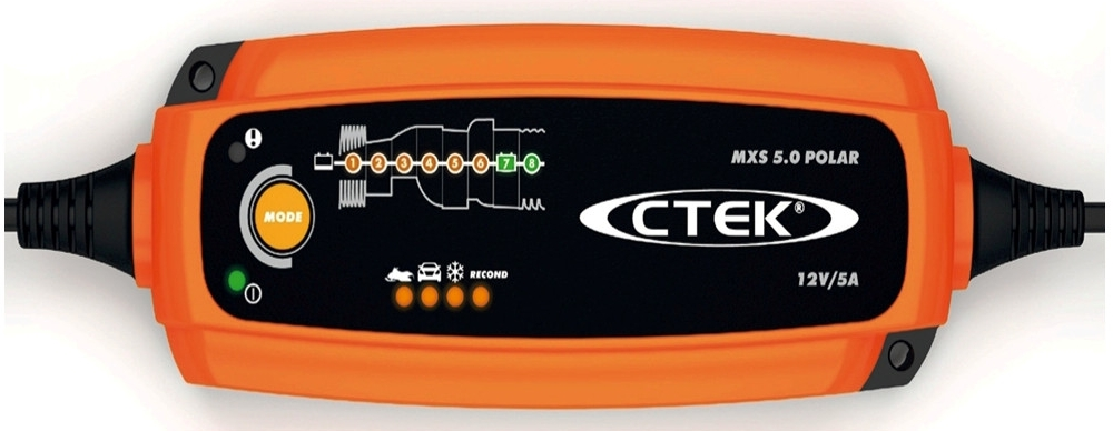 Ctek MXS 5.0 Polar 12V 5A