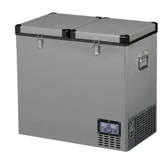 TB118DD Steel kompresorová autochladnička Indel B, 118L, 12/24/230V