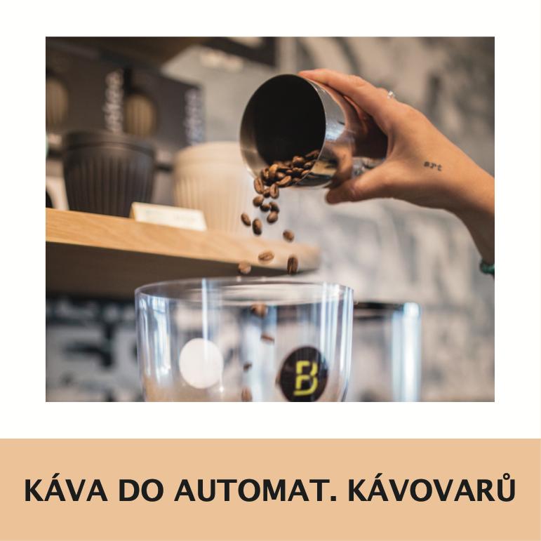 Káva do automatických kávovaru