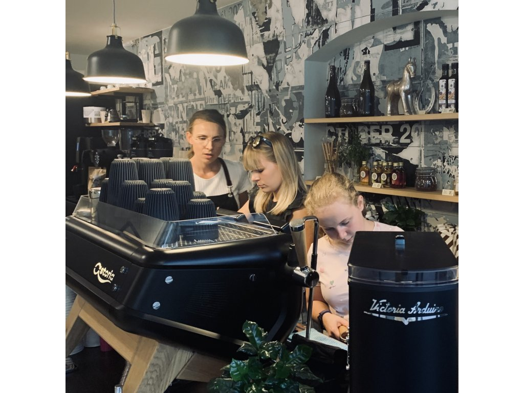 Baristický kurz, základy Espressa a Latte Art - 18.11.2021 v Kavalo Frýdek