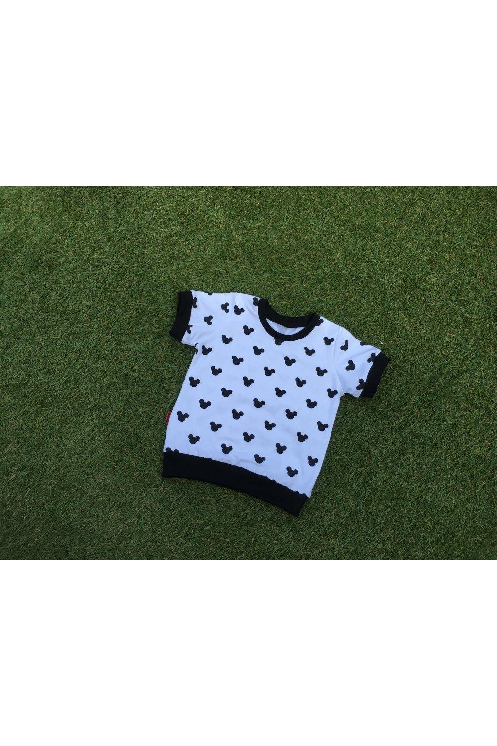 Tričko s krátkým rukávem - Mickey Hlavy