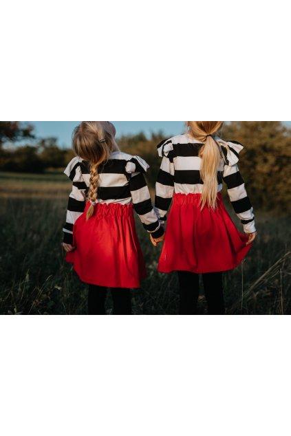 Dětská sukně jednobarevná
